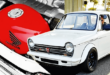 This Honda N600 is a 800cc VFR V4 Motorcycle Engine!