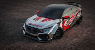 Commemorating 60 Years of Presence in America, Honda Showcases a Number of Attractive Cars at SEMA 2019