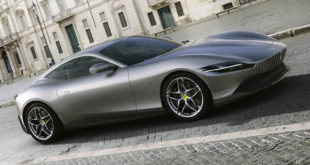 This is the Ferrari Rome, Aston Martin Vantage New Car