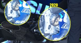 The Suzuki GSX-RR 2020 engine is smoother but faster and has lots of traction!