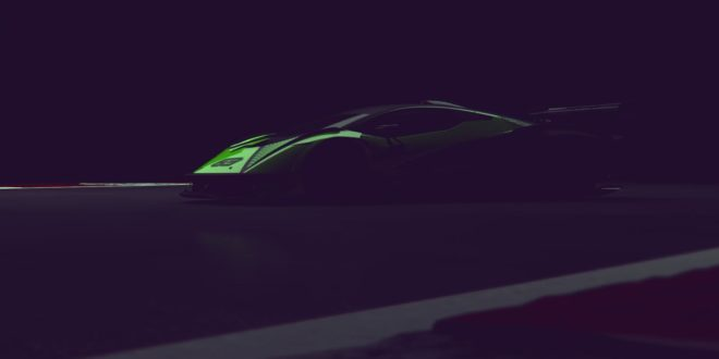 New Hypercar Track Only Teaser Appears From Lamborghini